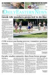 Daily Eastern News: September 15, 2014 by Eastern Illinois University