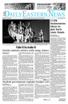 Daily Eastern News: April 20, 2015 by Eastern Illinois University