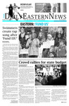 Daily Eastern News: Feburary 08, 2016 by Eastern Illinois University