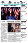 Daily Eastern News: November 09, 2016