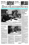 Daily Eastern News: November 17, 2016 by Eastern Illinois University