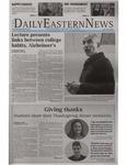 Daily Eastern News: November 16, 2017