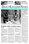 Daily Eastern News: January 16, 2018 by Eastern Illinois University