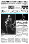 Daily Eastern News: October 11, 2018 by Eastern Illinois University