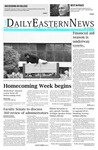 Daily Eastern News: October 16, 2018 by Eastern Illinois University