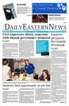 Daily Eastern News: September 21, 2018 by Eastern Illinois University