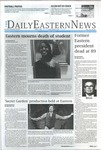 Daily Eastern News: November 18, 2019 by Eastern Illinois University