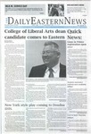 Daily Eastern News: January 16, 2020 by Eastern Illinois University