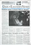 Daily Eastern News: January 21, 2020