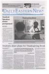 Daily Eastern News: November 19, 2020