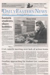 Daily Eastern News: January 14, 2021 by Eastern Illinois University