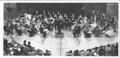 Eastern Illinois Symphony Orchestra Performing in Lantz Gymnasium