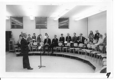 Dr. Boyd Teaching the Clarinet