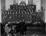 Girls Glee Club, 1953 by Earl Boyd