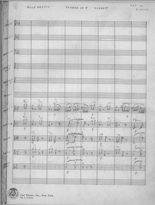 Mozart Sonata No. 4