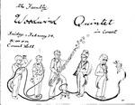 Faculty Woodwind Quintet Flyer by Earl Boyd