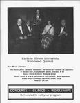 Faculty Woodwind Quartet Flyer by Earl Boyd