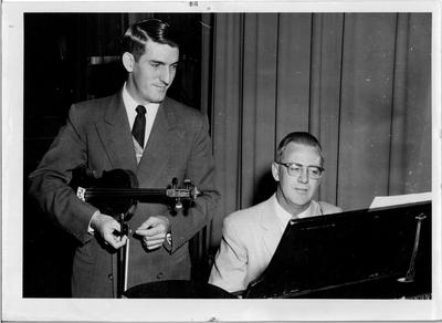 Dr. Boyd and Violin Player