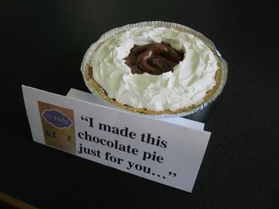 Award Winner - People's Choice Runner-Up: I Made This Chocolate Pie Just For You