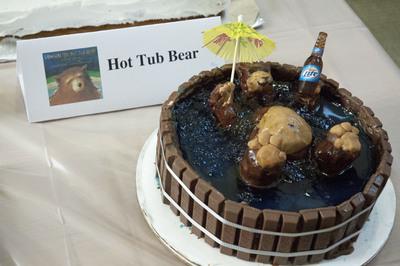 Children's Book Theme: Hot Tub Bear