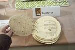 Show Entry: Tortilla Book (detail) by Ellen Corrigan