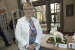 Show Pic: People's Choice Gold Medalist Ann Brownson by Booth Library