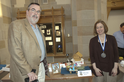 Show Pic: Family Entry Best In Show Medalists Sarah & Mark Johnson
