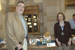 Show Pic: Family Entry Best In Show Medalists Sarah & Mark Johnson by Booth Library