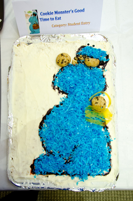 Honorable Mention: Student Entry: Cookie Monster's Good Time To Eat