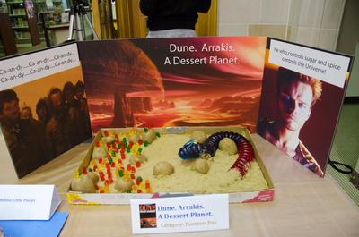 Show Entry: Dune. Arrakis. A Dessert Planet.