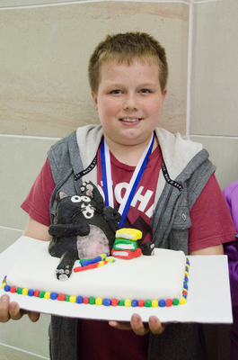 Show Pic: Award Winning People's Choice Silver Medalist Michael Carlen