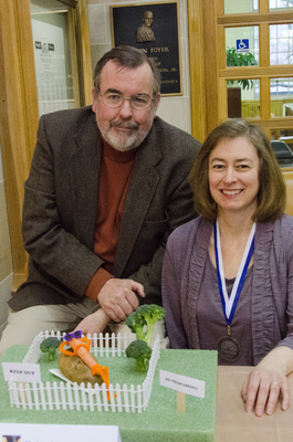 Show Pic: Best In Show Family Entry Medalists Mark & Sarah Johnson