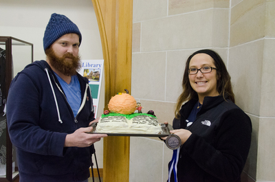 Show Pic: Best In Show Student Entry Medalists Michelle Cheval & Justin Decker