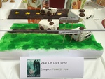 """Best in Show Funniest Pun Honorable Mention, """"Pair of Dice Lost"""" by Cody Bartz"""