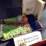 """The People's Choice Silver Medal Winner """"Frog and Toad"""" by Arlene Brown"""