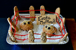 """""""Much Ado About Muffins"""", an Honorable Mention in the Funniest Pun category by Bev Cruse"""