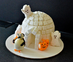 """""""Tacky and the Haunted Igloo"""", winner of an Honorable Mention in the Children's Book category by Bev Cruse"""