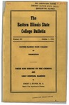 Bulletin 200 - Trees and Shrubs of the Campus and East Central Illinois by Ernest Stover