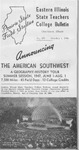 Bulletin 176 - American Southwest Geography Tour Summer Session 1947 by Eastern Illinois University