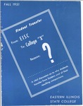 Bulletin 196 - A Vital Discussion of Why Students Transfer from Eastern by Eastern Illinois University