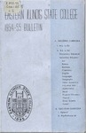 Bulletin 206 - 1954-1955 by Eastern Illinois University