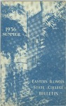 Bulletin 213 - Summer 1956 by Eastern Illinois University