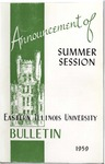 Bulletin 225 - Announcments of Summer Session 1959 by Eastern Illinois University