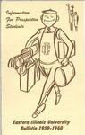 Bulletin 226 - 1959-1960 Information for Prospective Students