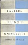 Bulletin 227 - 1959-1960 by Eastern Illinois University