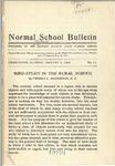 Bulletin 11 - Bird Study in the Rural School by Thomas L. Hankinson