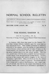 Bulletin 20 - The School Garden II by Otis W. Caldwell