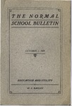 Bulletin 26 - Education and Utility by W. C. Bagley