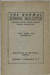 Bulletin 53 - Bird Study in the Rural School by Thomas L. Hankinson