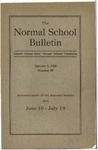 Bulletin 59 - Summer Session 1918